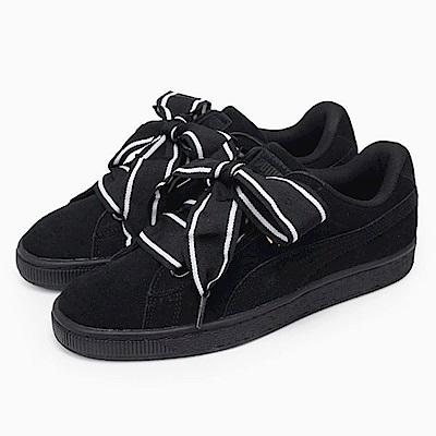 PUMA 緞帶鞋 SUEDE HEART 女鞋