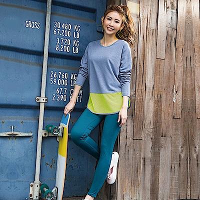 8:AT 緊身長褲  M-XL(大洋綠)