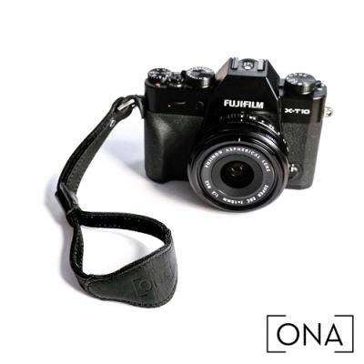 ONA Leather Kyoto 時尚皮革相機手腕帶 - 經典黑