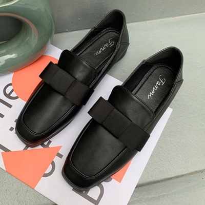 KEITH-WILL時尚鞋館 歐洲站經典時尚英倫樂福鞋-黑