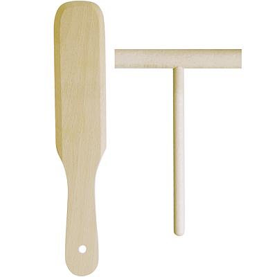 《EXCELSA》櫸木可麗餅抹刀+窄鏟
