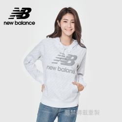 [New Balance]連帽長袖上衣_女款_白色_WT11530WHP