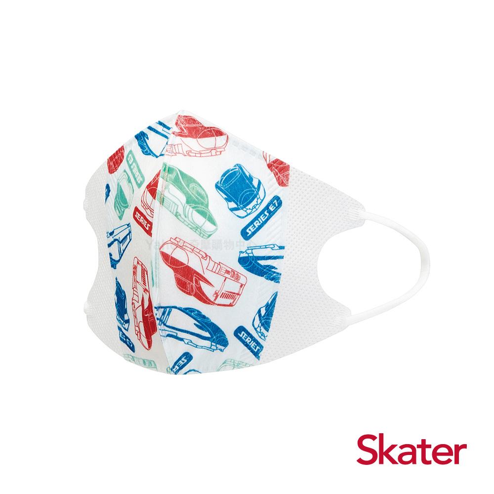 Skater兒童立體口罩-新幹線(10入/包)共6包