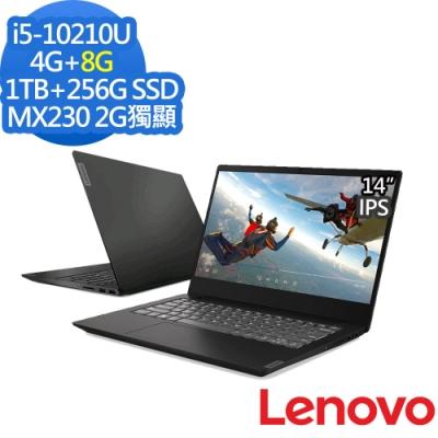 Lenovo S340 14吋筆電 i5-10210U/12G/1T+256G/MX230
