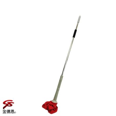 金德恩 台灣專利製造 潔淨自擰式乾溼兩用旋轉拖把132cm