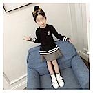 【韓品童裝】女童 中小童拼搭連身裙-二色可選