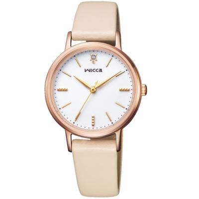 CITIZEN星辰WICCA少女系列廣告款手錶(KP5-166-10)