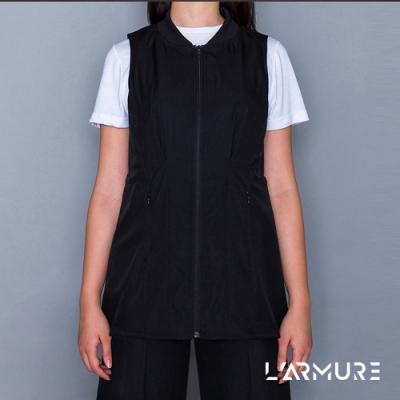 L ARMURE 女裝 Ultra-Light 修身 背心洋裝 黑色