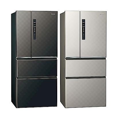 [無卡分期12期]Panasonic國際牌 四門 變頻 電冰箱 NR-D619HV