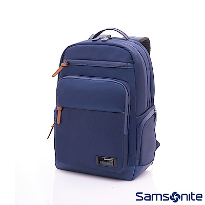 Samsonite新秀麗 Avant筆電後背包(藍)