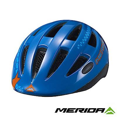 《MERIDA》美利達 Matts JR 青少年安全帽 藍/紅 48-54CM