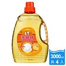 毛寶 洗碗精-潔淨強化配方(3000gX4入/箱)