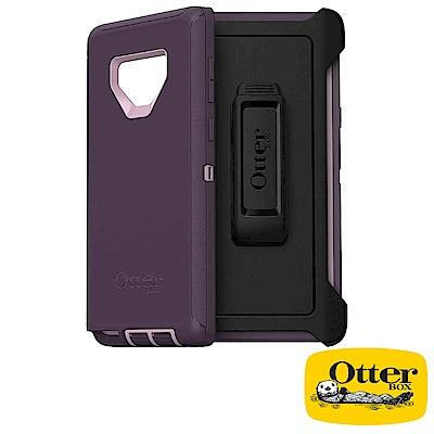 OtterBox Galaxy Note9防禦者系列保護殼-紫色
