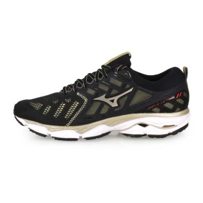 MIZUNO 男 慢跑鞋 WAVE ULTIMA 11 黑金