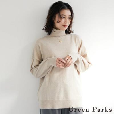 Green Parks 百搭高領素面針織上衣