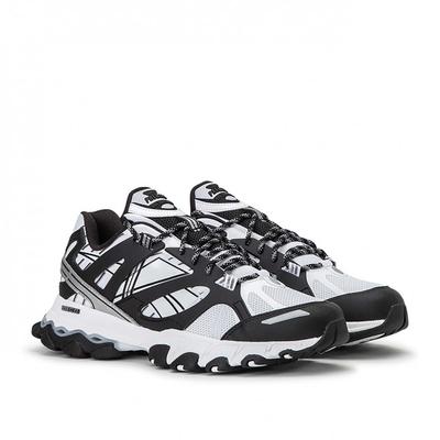 Reebok 慢跑鞋 DMX Trail Shadow 運動 男鞋 戶外 越野跑鞋 復古 舒適 球鞋穿搭 白 黑 EF8819