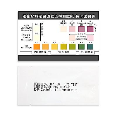 雅創 三項泌尿道感染檢測試紙(1入)