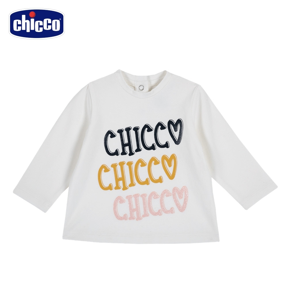 chicco-TO BE Baby-Chicco字母長袖上衣