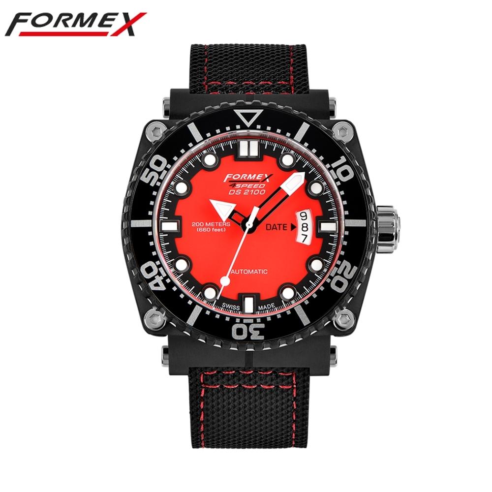 Formex 弗美克斯潛水系列自動表(紅色)2100.9.7074.216