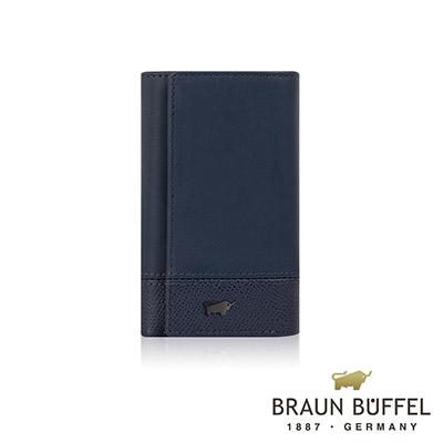 BRAUN BUFFEL - 邦尼系列鎖圈鑰匙包 - 深海藍