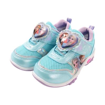 女童台灣製冰雪奇緣閃燈運動鞋 sa94906 魔法Baby