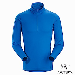 Arcteryx 男 Phase AR 保暖內層套頭衫 恆星藍
