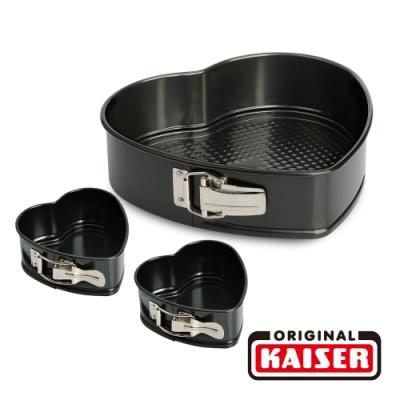 德國KAISER 愛心烤模(26公分x1+11公分x2)