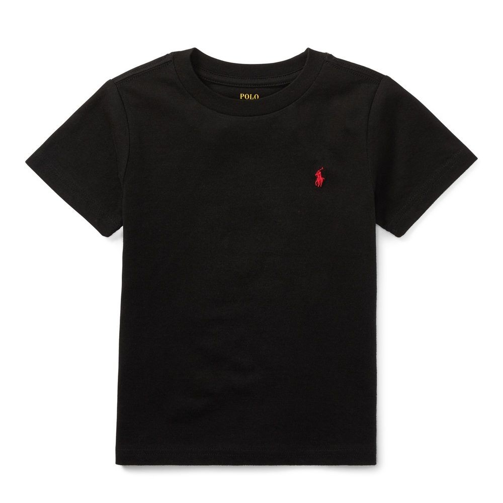 Ralph Lauren T-SHIRT 短袖 小孩 POLO 黑色  1037