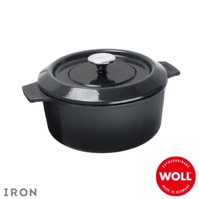 WOLL德國歐爾 IRON鑄鐵鍋24cm-灰