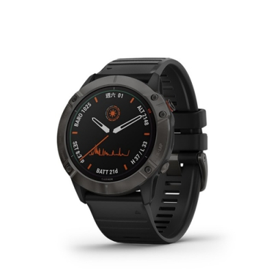 GARMIN Fenix 6X Pro Solar(太陽能) 進階複合式運動GPS腕錶 血氧監測
