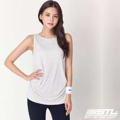 STL Soft Stretch Modal 韓國莫代爾無袖運動上衣 白