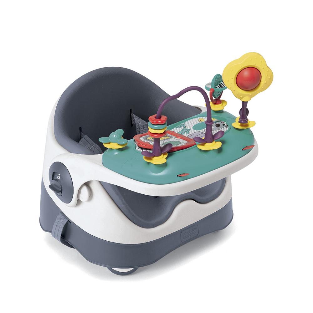 【Mamas & Papas】三合一都可椅/餐椅含玩樂盤-潛艇藍(CF)