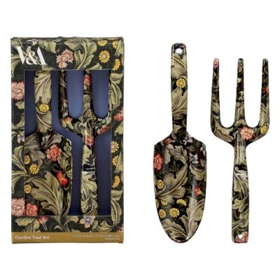【英國V&A】William Morris聯名限量款-叉鏟花園工具組-Leicester系列