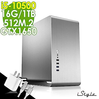 iStyle 繪圖獨顯工作站 i5-10500/16G/512M.2+1TB/GTX1650 4G/W10P/五年保固