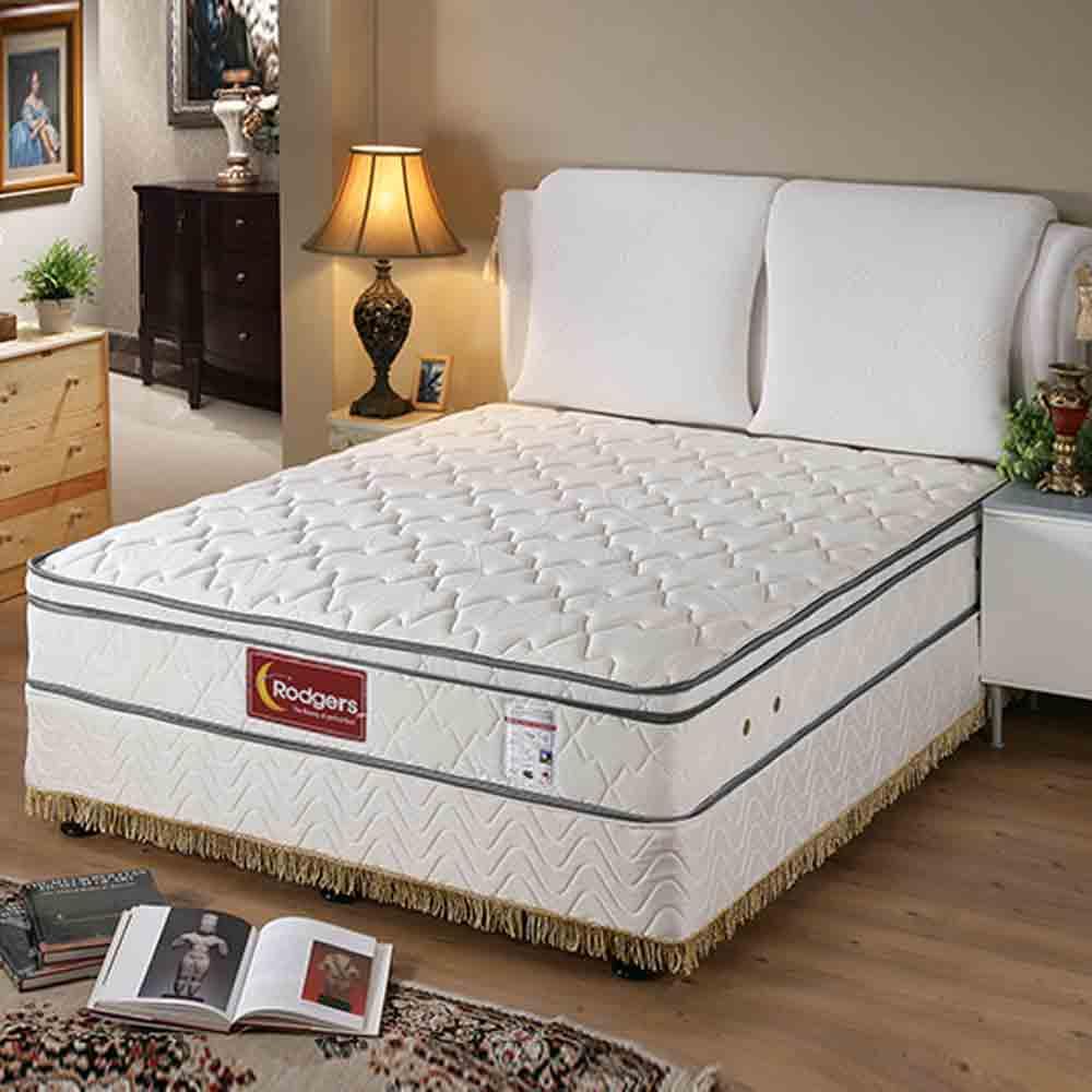馬斯奈609三線乳膠硬式床墊-雙人加大6*6.2尺