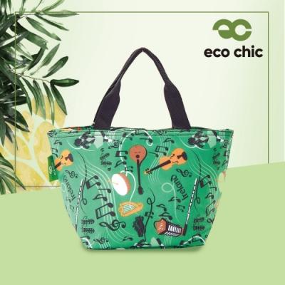 【英國ECO】時尚保冷袋-交響樂(100%再生環保纖維布料)(快)