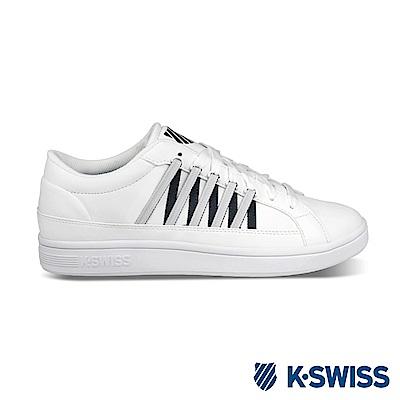 K-Swiss Court Catalina 休閒運動鞋-男-白/藍
