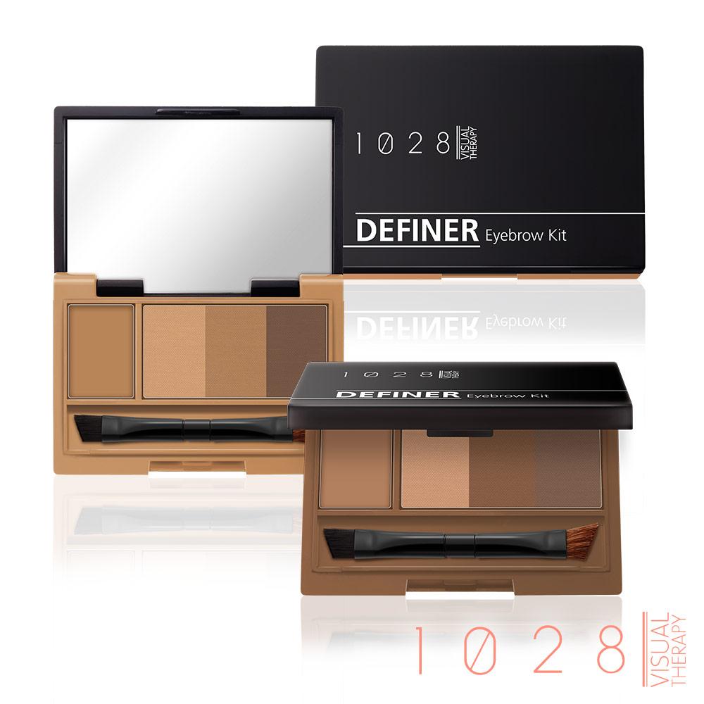 1028 雙效定型眉餅盒(兩色任選)