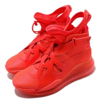 Nike 休閒鞋 Air Latitude 720 女鞋 大氣墊 避震 舒適 高筒 喬丹 球鞋 紅 橘 AV5187600
