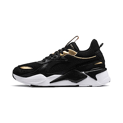 PUMA-RS-X TROPHY男女復古慢跑運動鞋-黑色