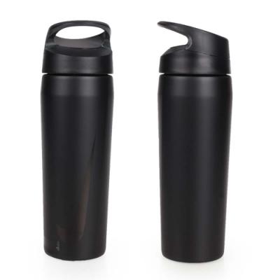NIKE 不鏽鋼保溫瓶 16OZ-475毫升 運動水壺 黑