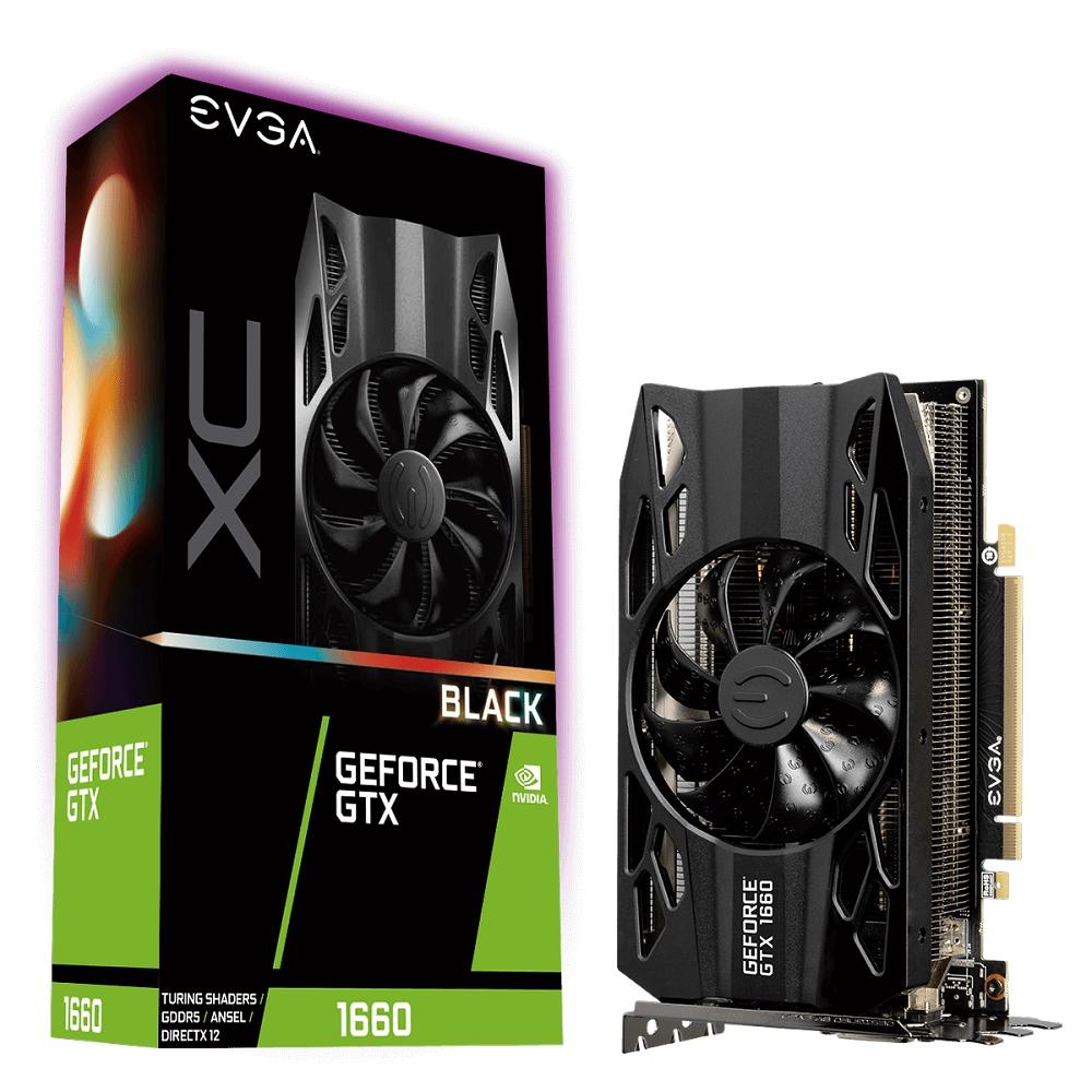 艾維克EVGA GTX1660 6G XC Black Edition GAMING顯示卡