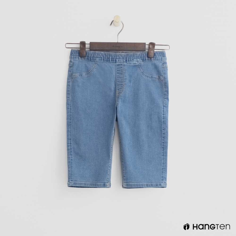 Hang Ten-童裝-輕便休閒舒適長褲-藍