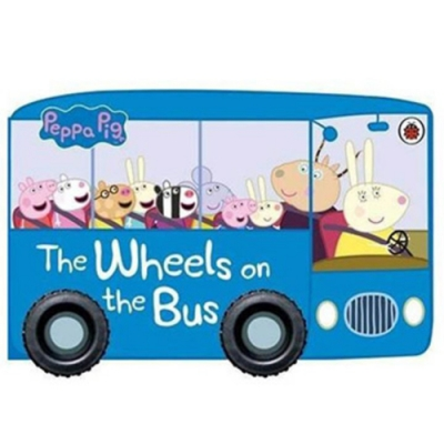 The Wheels On The Bus 佩佩豬搭車去野餐輪子轉轉硬頁書