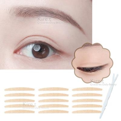無痕 網狀蕾絲 雙眼皮貼 眼線貼-開眼頭款 超值108枚入 kiret