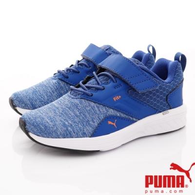 PUMA童鞋 Fit+輕量慢跑鞋款 ON90676-10藍(中小童段)