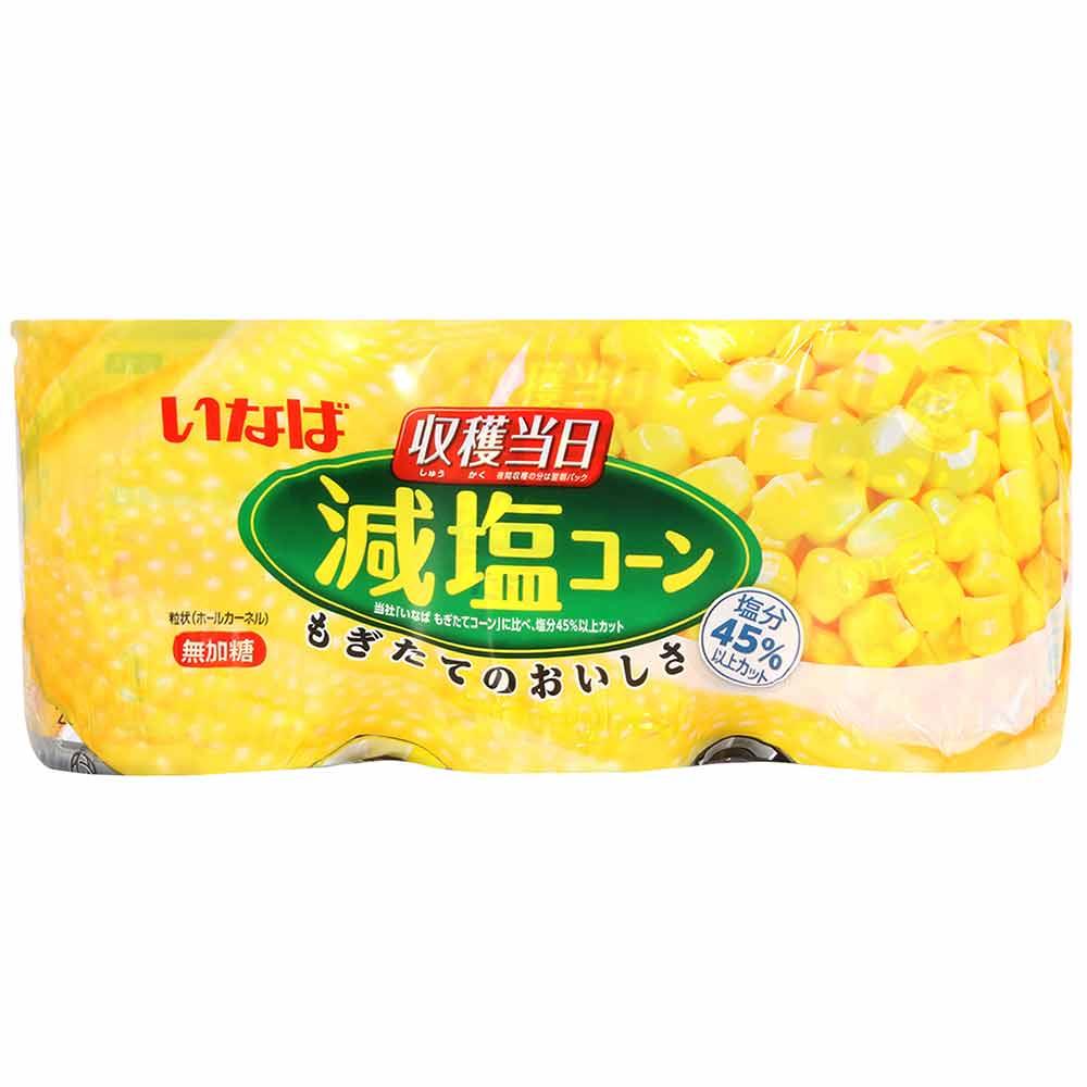 INABA 稻葉鮮採玉米罐3入(600g)