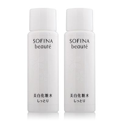 (即期品)SOFINA 蘇菲娜 芯美顏美白瀅潤滲透露30ml清爽型X2-期效201910