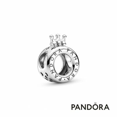 【Pandora官方直營】Pandora Logo 皇冠O串飾