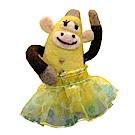 雙手牌-羊毛氈材料包-芭娜娜公主(香蕉黃)